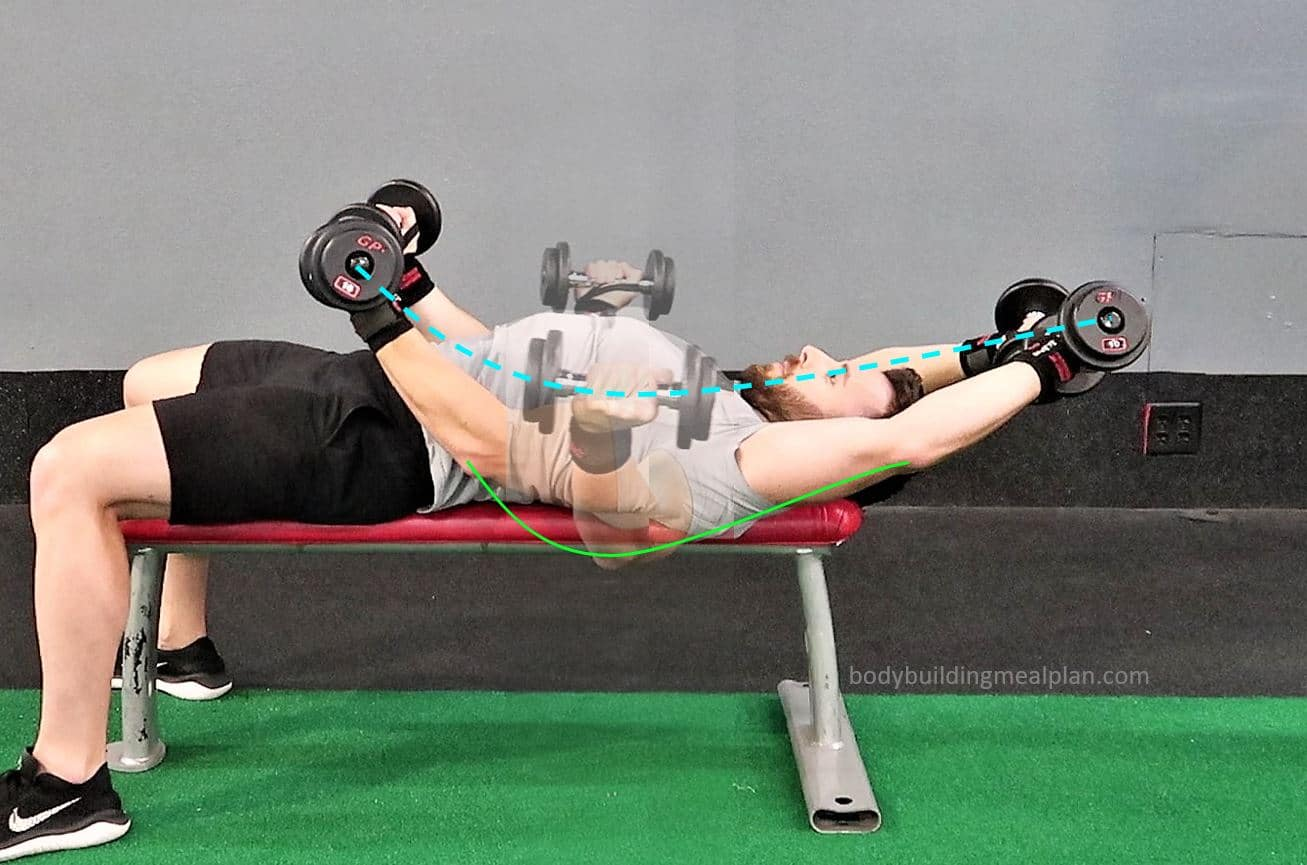 Around The World Exercise For Chest Form