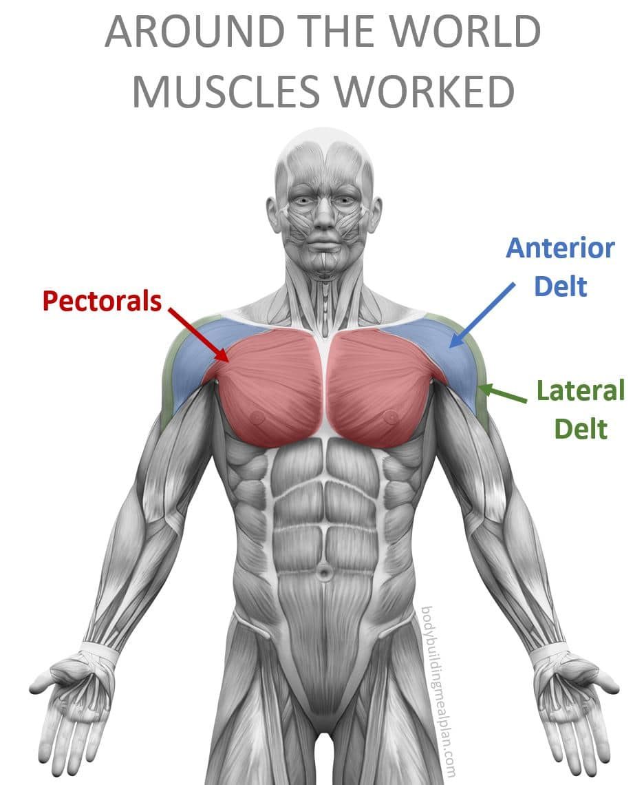 Around The World Exercise Muscles Worked