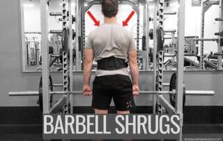 Barbell Shrugs 2