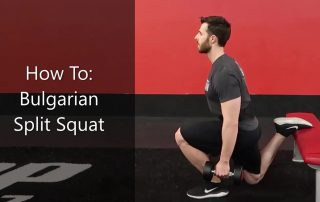 How To Bulgarian Split Squat