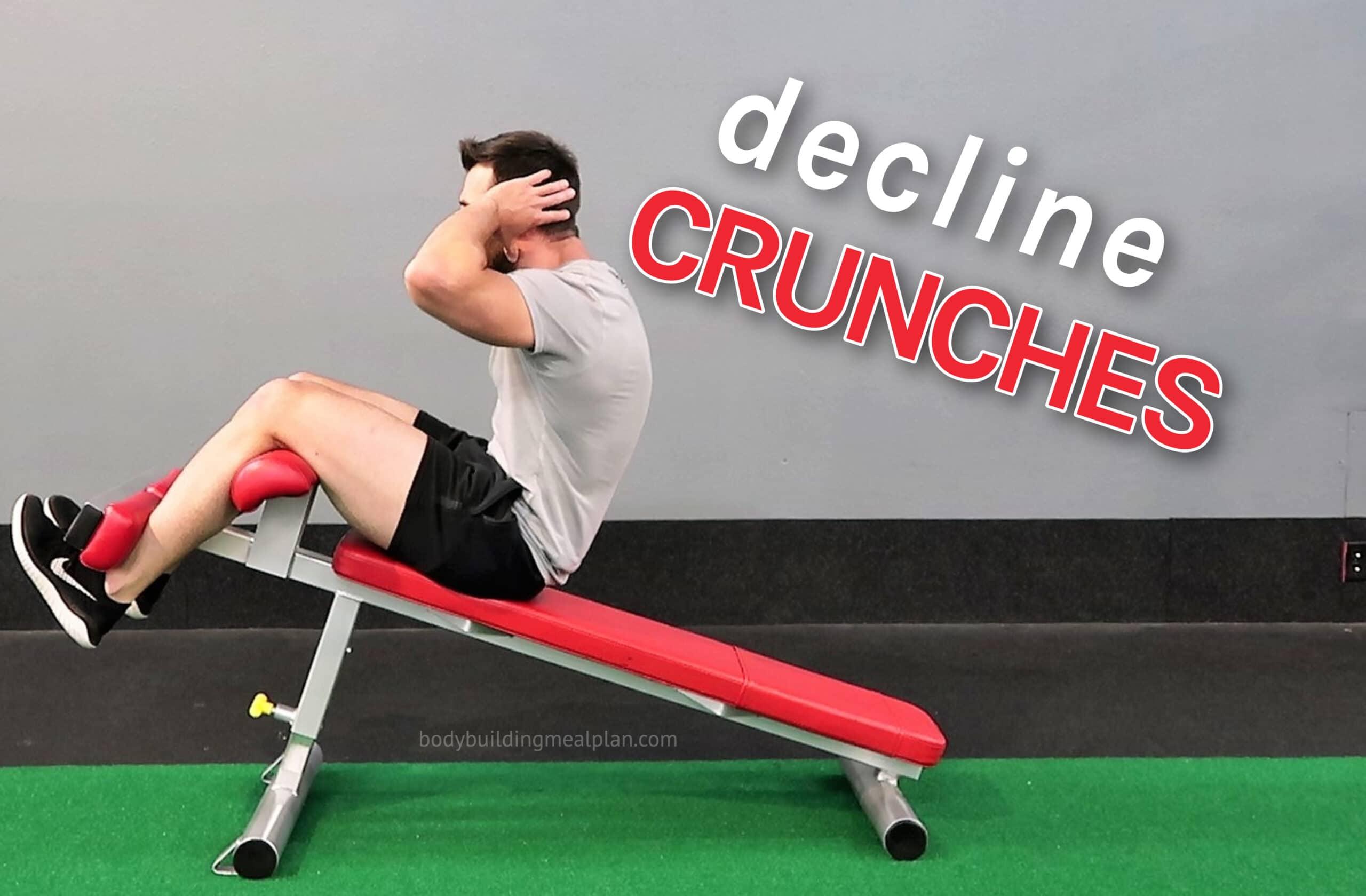 Decline Crunches