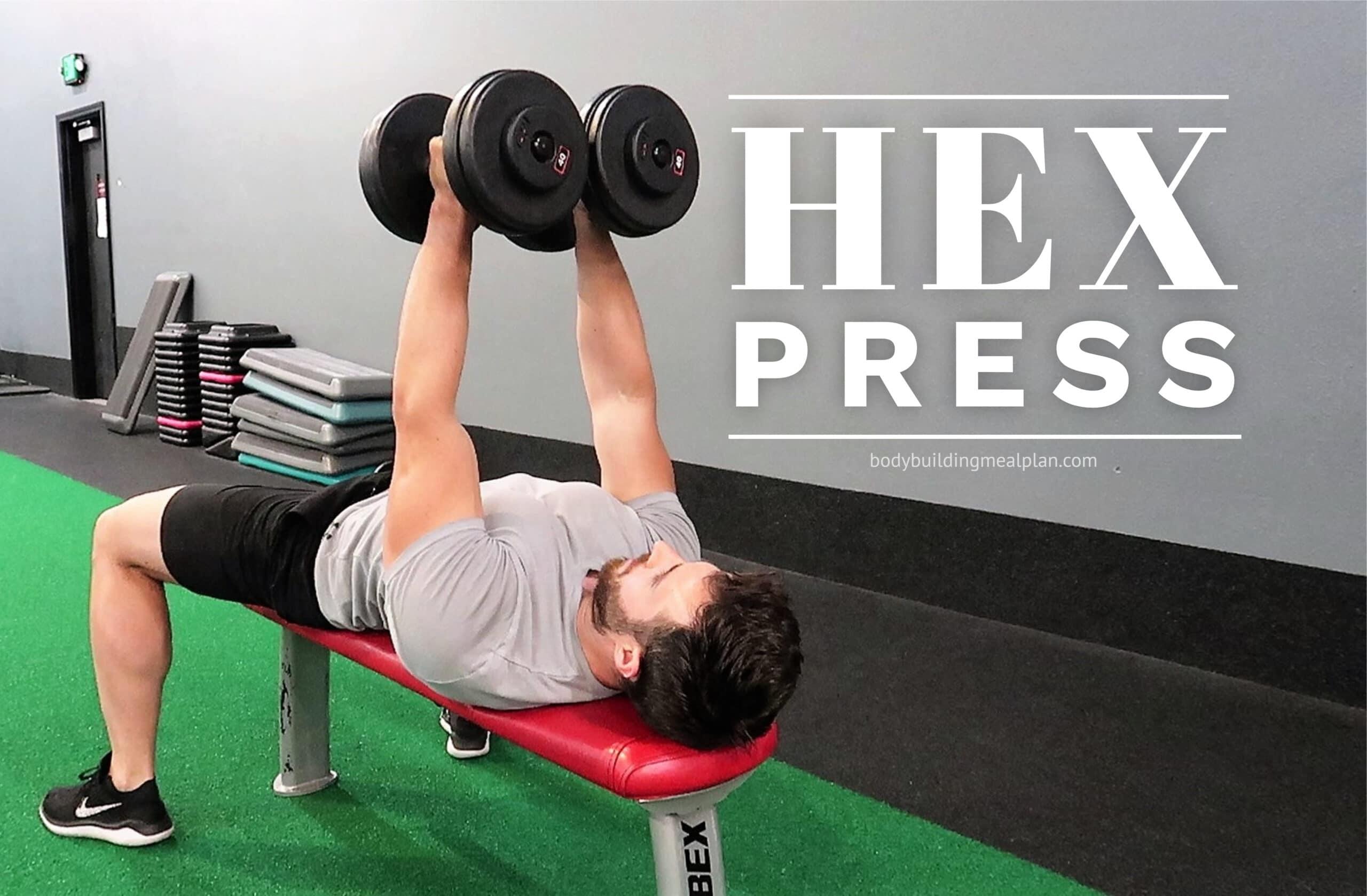 Dumbbell Hex Press