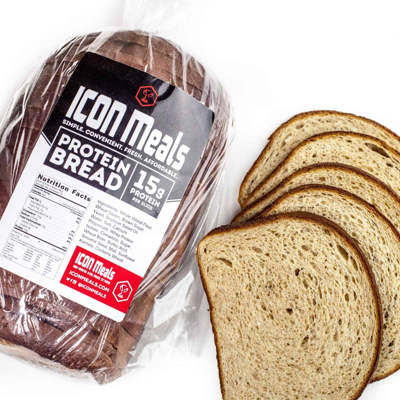 Icon Meals High Protein Bread
