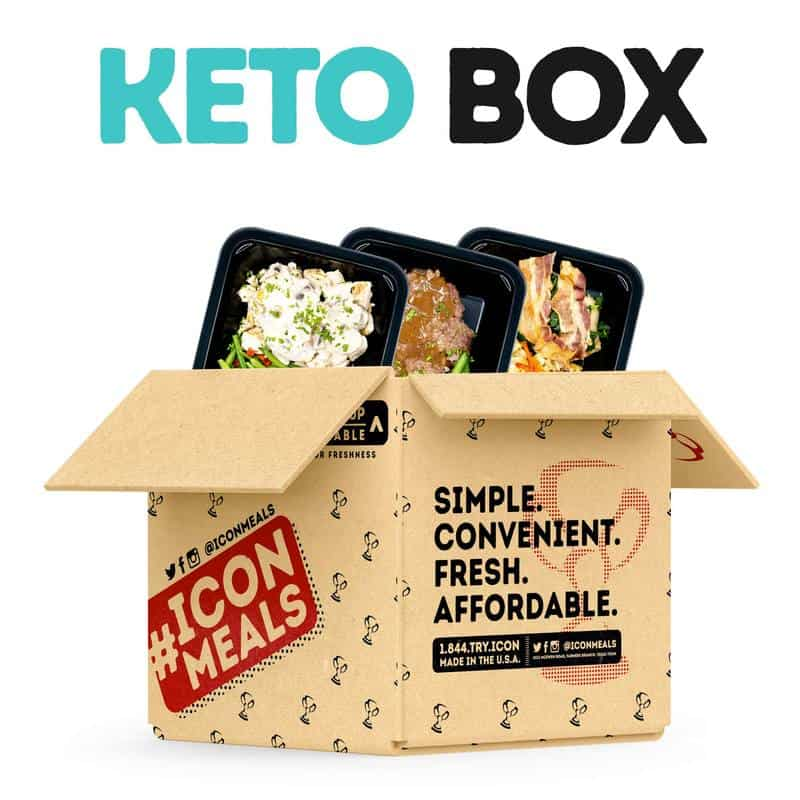 Icon Meals Keto Box