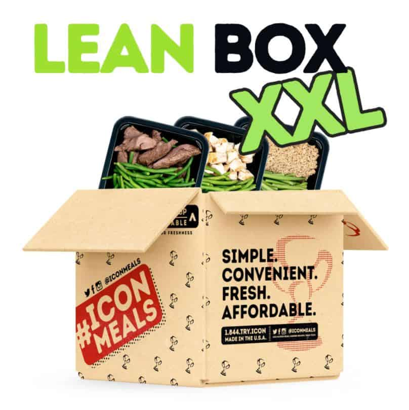 Icon Meals Lean Box XXL