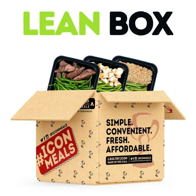 Icon Meals Lean Box