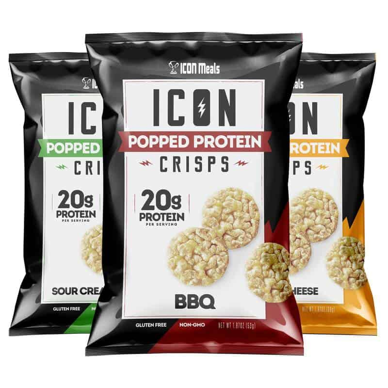 Icon Meals Popped Protein Crisps