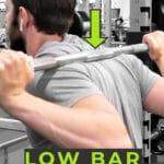 Low Bar Squat Pin