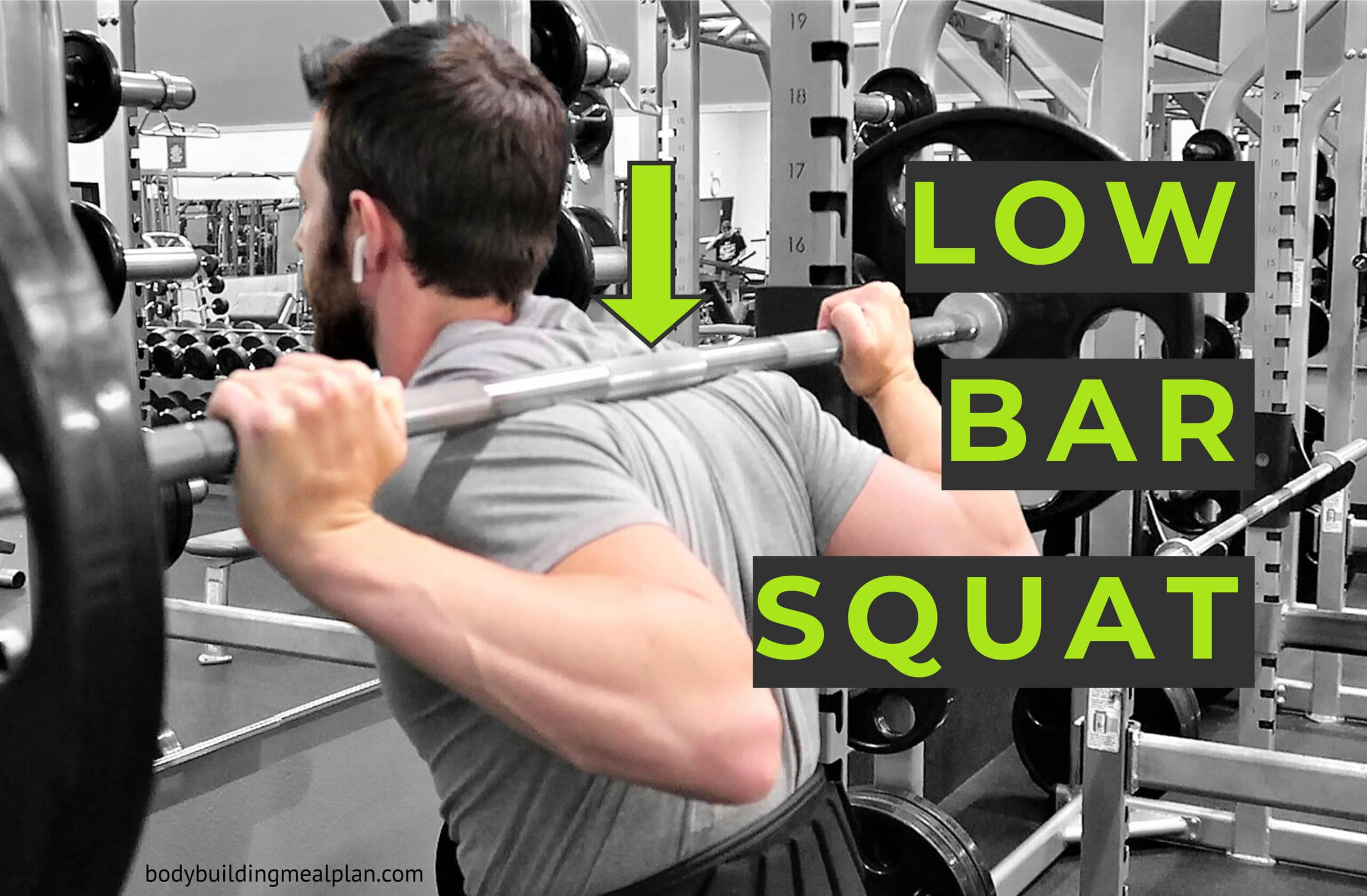 Low Bar Squat