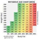 Metabolic Age Chart Men