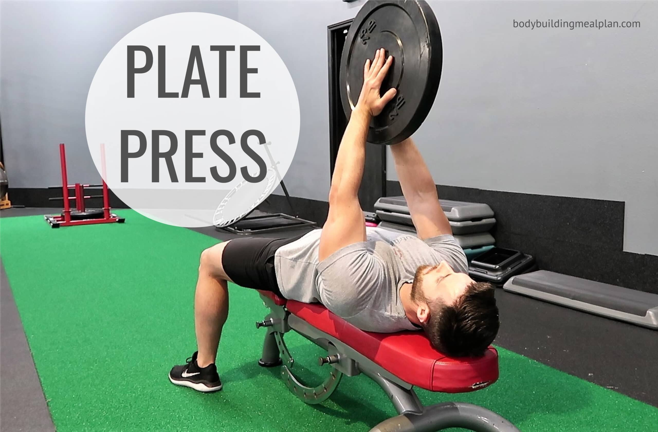 Plate Press Exercise