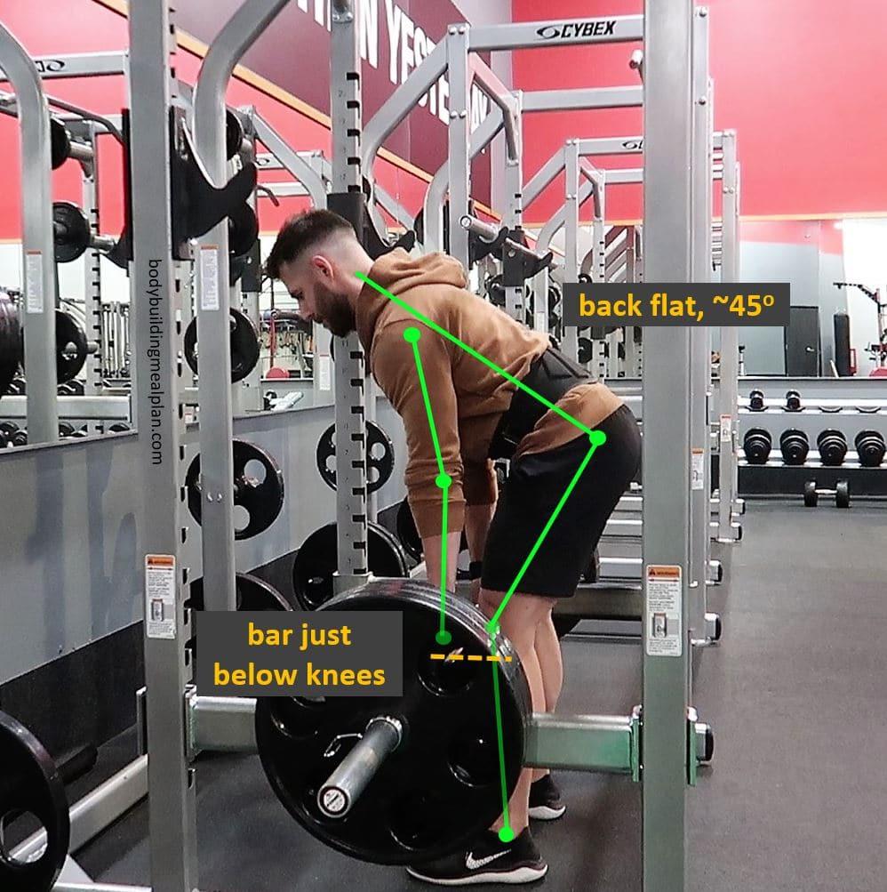 Rack Pull Form Start