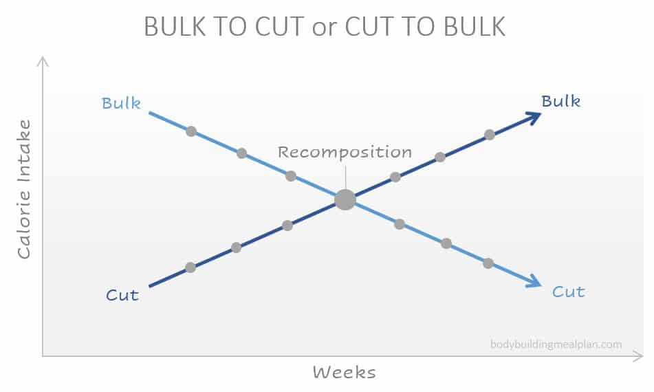 bulk vs cut transition