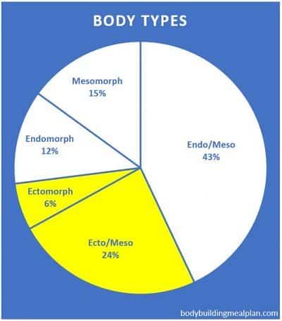 bulking calorie calculator body types