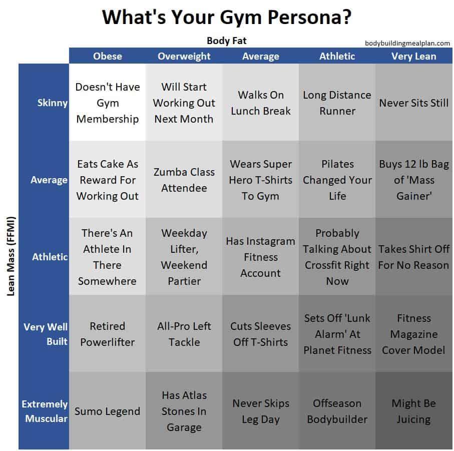 ffmi calculator gym persona