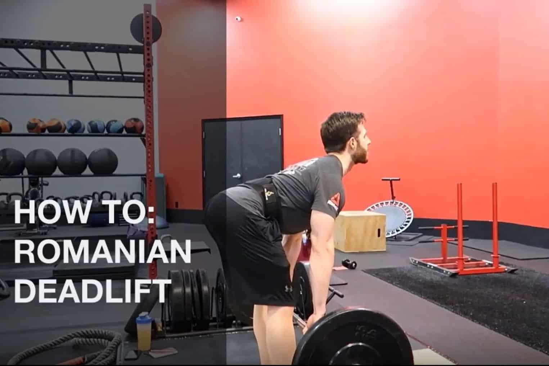 How To Romanian Deadlift