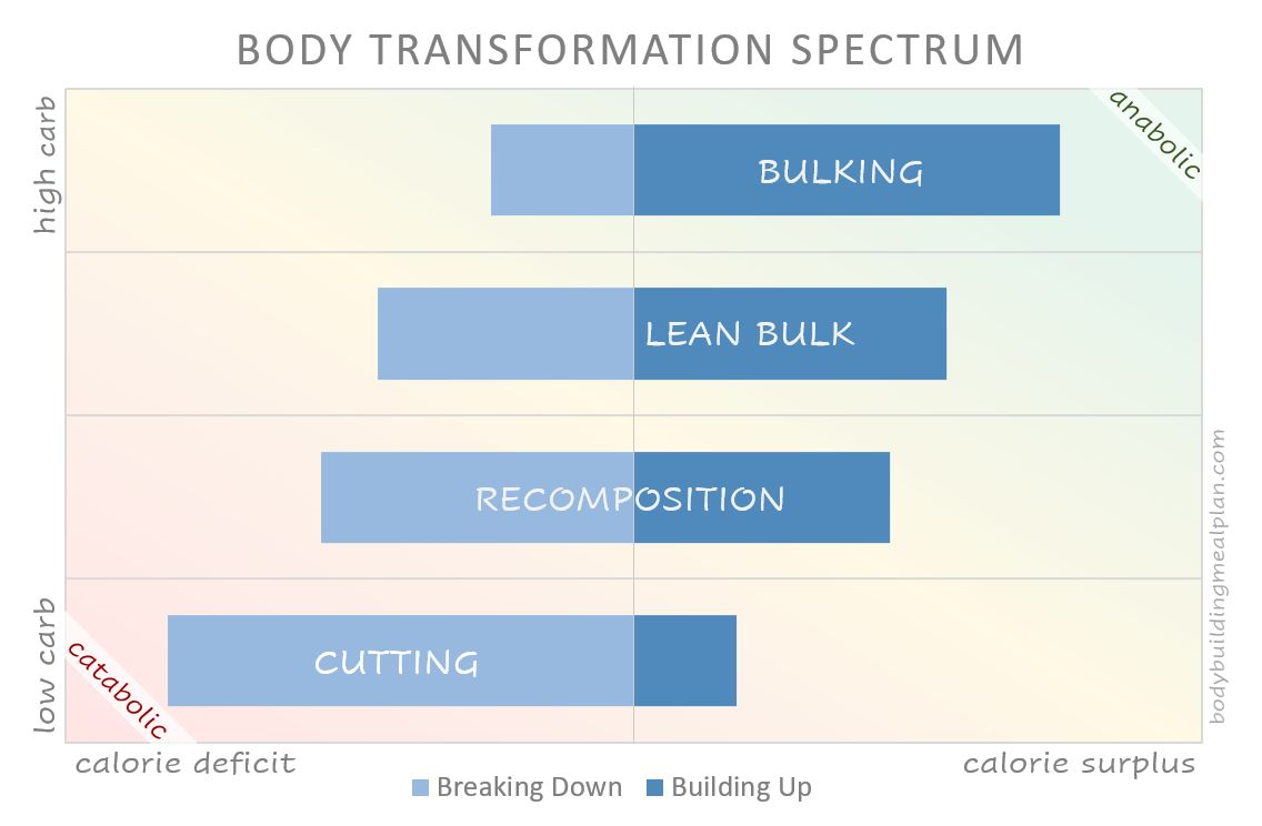 lean bulk compared to other fitness goals