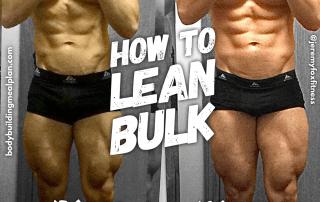 How to Lean Bulk