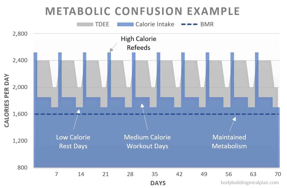 metabolic confusion example schedule