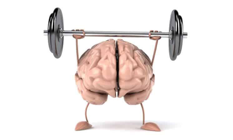 mind muscle connection cartoon